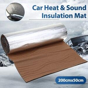200cmx50cm 5mm/10mm/20mm/30mm Car Truck Firewall Heat Sound Deadener Noise Insulation MatCar Heat Sound Thermal Proof Pad