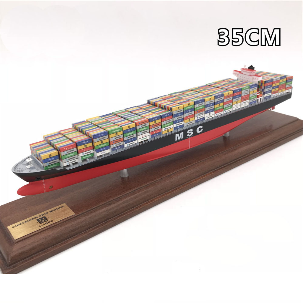 X Ship Model Production 35CM Maersk Container Ship Models Custom-made Ship Models