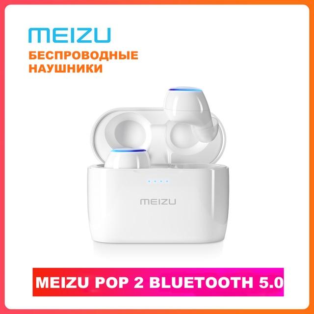 Meizu POP2 TW50S หูฟังไร้สาย True Bluetooth 5.0 TOUCH Control IPX5 กันน้ำกีฬา Meizu POP наушники