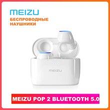 Meizu POP2 TW50S véritable sans fil écouteurs Bluetooth 5.0 contrôle tactile IPX5 étanche Sports Meizu POP