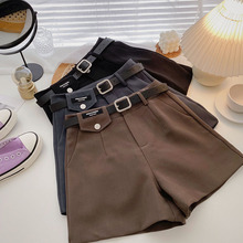 Women's 2021 new Korean version of autumn clothes, wide-legged, loose-fitting, and fashionable all-match high-waist casual pants