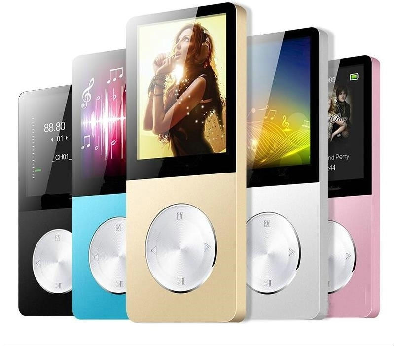 2021 Aluminium 16Gb MP3 Speler Met Ingebouwde Luidspreker Hifi Speler Walkman Mp 4 Spelers Video Lossless muziek Mp4 Speler 4
