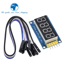 TZT 4 Bits Digital Rohr LED Display Modul Vier Serielle für Arduino 595 Fahrer
