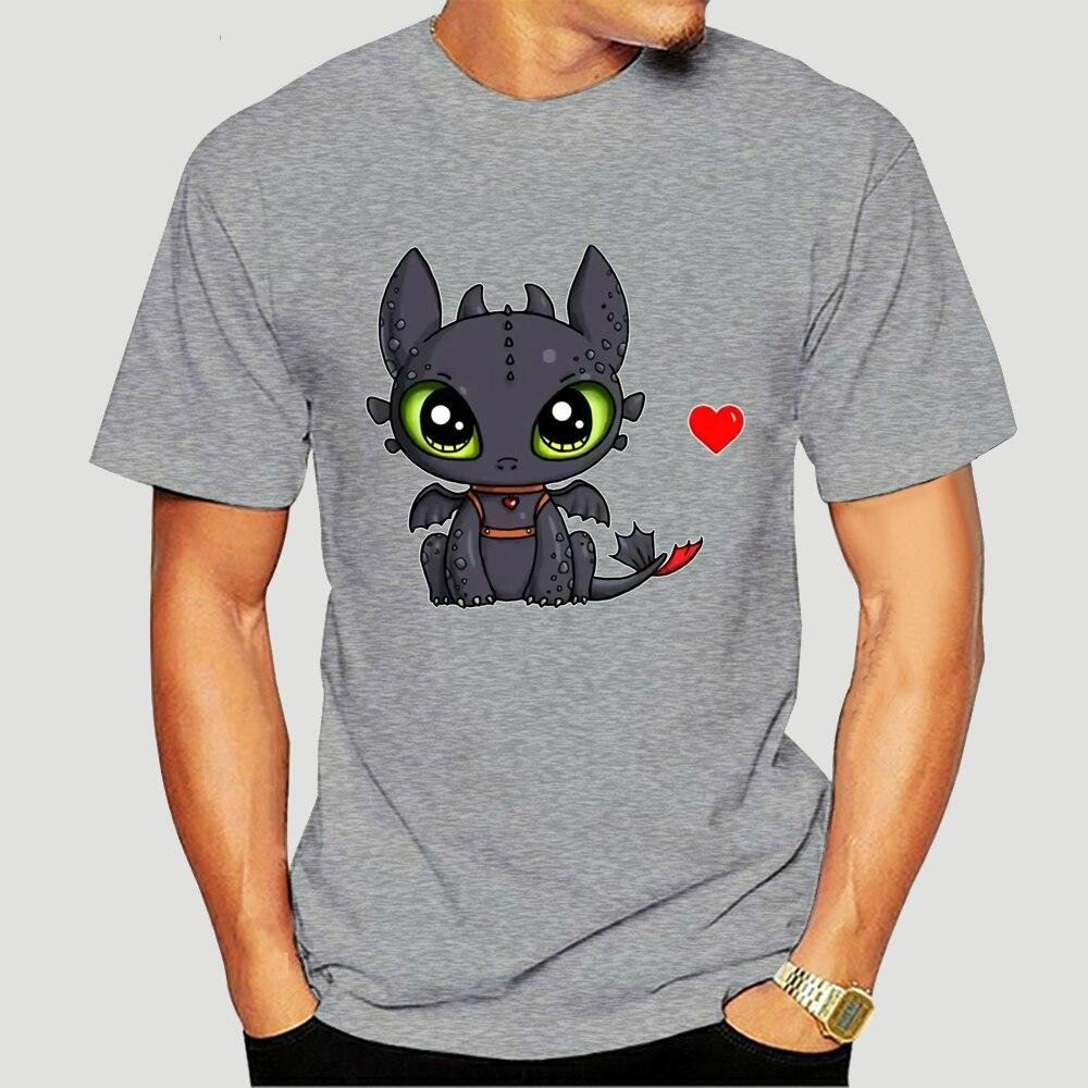 Como treinar seu dragão desdentado ew pessoas t camisa personalizado impresso 100% algodão t-shirts preto 4xl-3443d