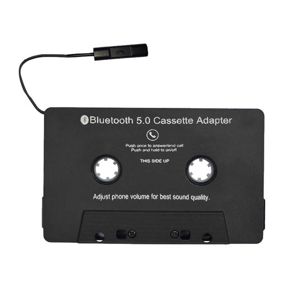 High Quality Car Audio Cassette iTape Adapter Bluetooth 5.0 USB Charging Phone MP3 Audio Wireless Player Receiver Music