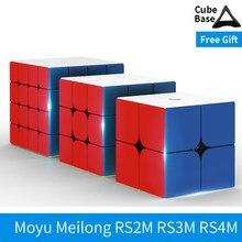Moyu Rs3m 2020 3x3x3 Rs4m 2020 4x4 RS2M 2x2 manyetik küp RS3RS3M 3x3x3 CubingClassroom profesyonel 3x3 SpeedCube Rs3m 2020