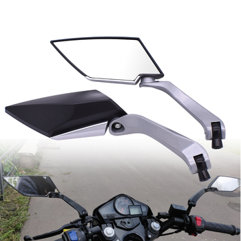 Espejos retrovisores laterales traseros para motocicleta 8mm 10mm para Yamaha YQ50 Aerox MBK Nitro xt600 nvx155 aerox155 nvx aerox 155