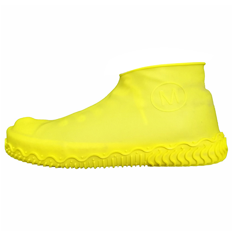 Unisex Wear Resistant Waterproof Shoe Protector Made of Silicone Material with a Non Slip Textured Sole for Outdoor in Rainy Days 15