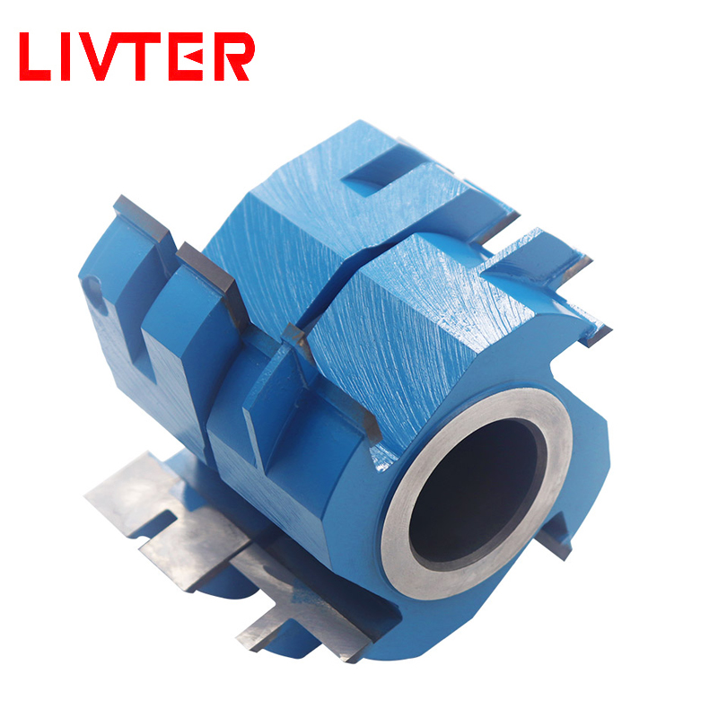 LIVTER Wedge Groove Shaper Cutters Jointing Shaper Cutters Carbide Tipped Shaper Cutters 1pc