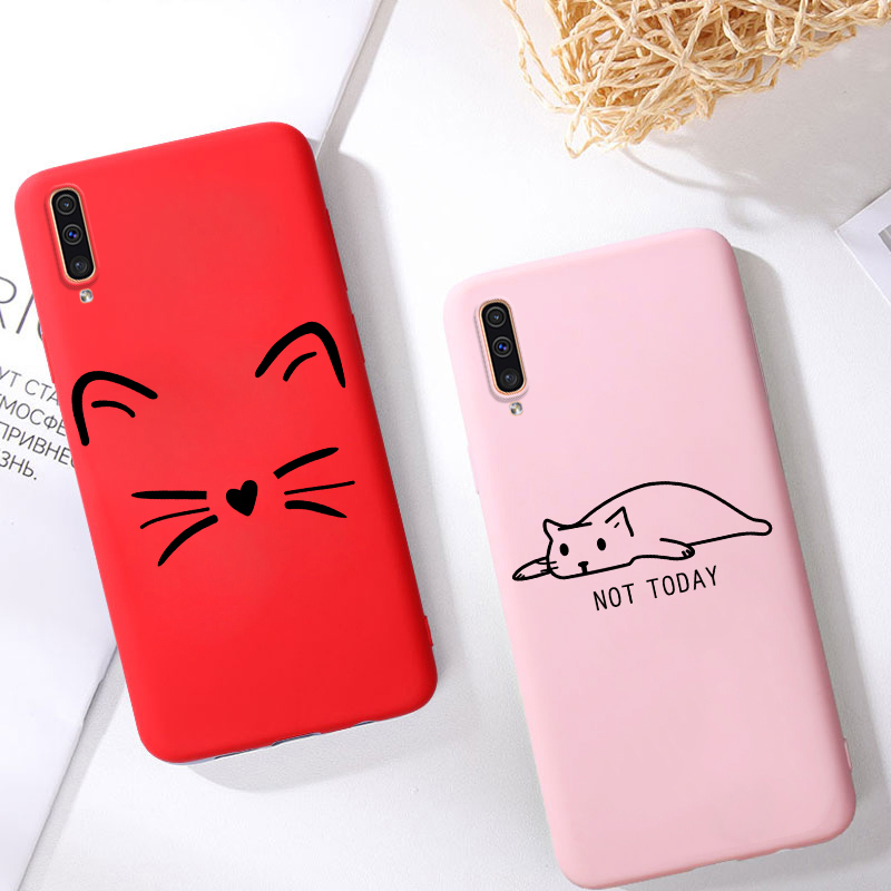 3D Silicone Case For Samsung Galaxy A50 A40 A70 A60 A30 A20S A10S A20e A90 5G 2017 A6A8 A9 A7 2018 S8 S9 Note 10 Plus Case Cover