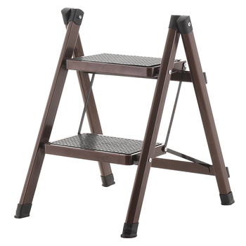 Kitchen Step Stools & Step Ladders Household Floding Stool Two Step Ladder Multi-functional Anti- Slip Little Folding ladder