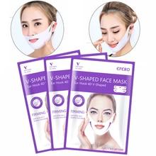 4D Lifting Gel Face Mask V-Shape Sliming Sheet Masks Anti Wr