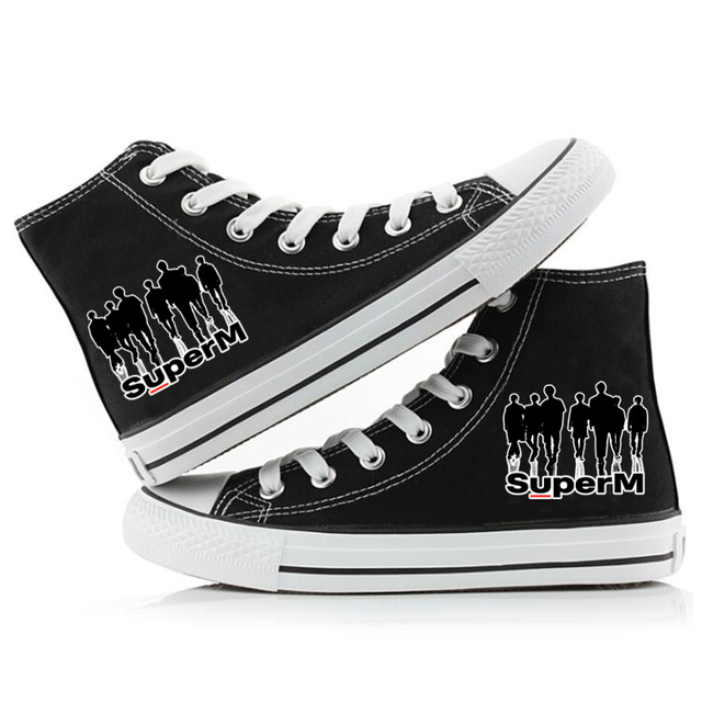 SUPER M HIGH TOP SHOES (12 VARIAN)