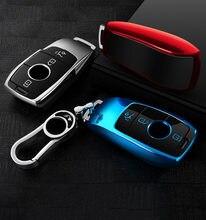 حافظة حماية لمفتاح السيارة مصنوعة من مادة البولي يوريثان 2020 حافظة لهاتف Mercedes Benz 2017 2018 E المسلسلات E300 E200 E220 Maybach S320L S450 S350
