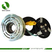 sd6v12 Car Compressor Clutch ForPeugeot 206 307 for Citroen Fiat 9655191580 9684480480 9800822280 6453XJ 6453QG 6453QE 6453QH