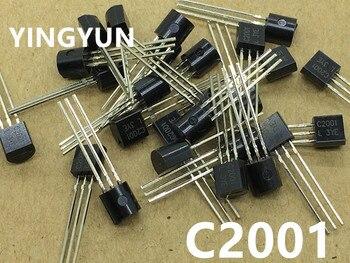 50 Stks/partij C2001 2SC2001 0.7A 25V NPN TO-92 Nieuwe Originele