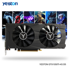 Yeston Geforce Gtx 1050Ti Gpu 4Gb GDDR5 128 Bit Gaming Desktop Computer Pc Ondersteuning Video Grafische Kaarten Ti Ondersteuning dvi/Hdmi/Dp