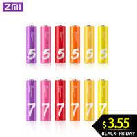 Original ZMI ZI7 ZI5 AA AAA 700mAh 1800mAh 1,2 V batería de Ni-MH ZIM Banco de la energía