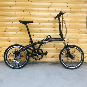 8 speed 20inch folding bike with Disc brakes bike 20 inch bicycle Aluminum Alloy frame Folding Bicycle Folding Electromobie