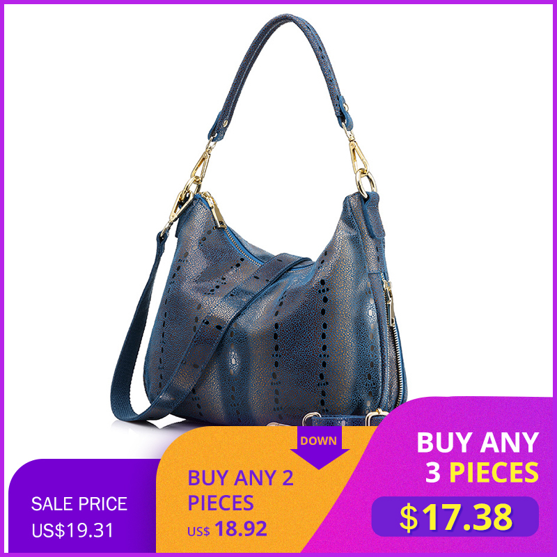 Sac à main femme en cuir véritable sac à bandoulière femme design hobos sac fourre tout à poignée supérieure sacs messenger femme-in Sacs à bandoulière from Baggages et sacs    1