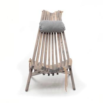 Krzesło plażowe meble z litego drewna leżak przenośna Sofa balkon przerwa w południe stołek na zewnątrz francuski Windows Yard Garden tanie i dobre opinie XIAOLANG CN (pochodzenie) Nowoczesne Meble do salonu 110CM 65cm 100cm 0113 Szezlong Meble do domu Birch shangdong gray yellow