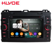 Klyde 4G Android 9 Octa Core 4GB RAM 64GB ROM DSP Car DVD Multimedia Player Stereo For Toyota Land Cruiser Prado LC120 2004 2010