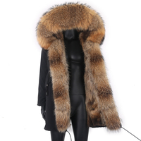 2021 Fashion Designer Männer Winter Jacke Mann Winter Mantel Wasserdichte Oberbekleidung für Kalte Wetter mit Fuchs Pelz Kragen Männer Kleidung