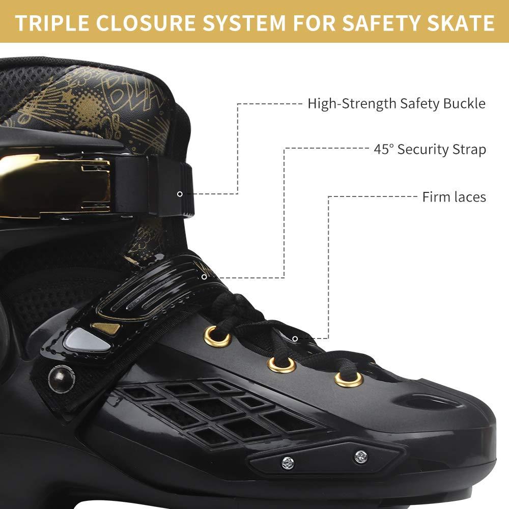 Inline Roller Quad Children Skate Shoes Street Female Male Man SEBA Slalom Skate 4 Roller Skate Inline Skateboard Skate - 3