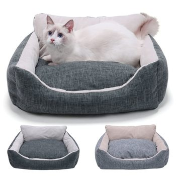 Pet Bed For Dogs Cat House Dog Beds For Large Dogs Pets Products For Puppies Dog Bed Mat Lounger Bench Cats Sofas Supplies image