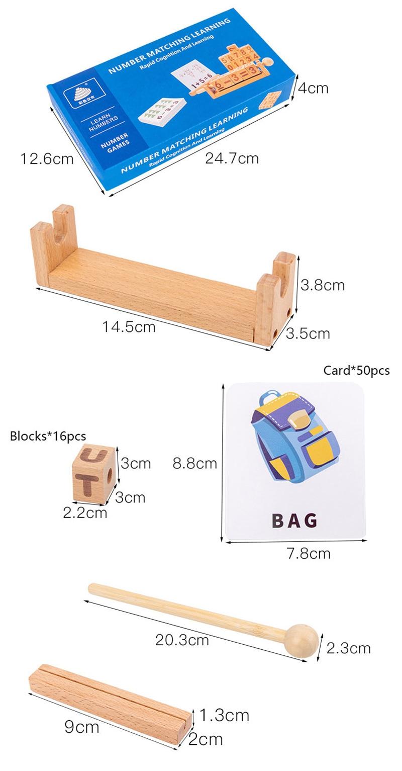 pré-escolar montessori brinquedos educativos