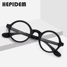 Acétate optique lunettes cadre hommes nouveau rétro Vintage rond lunettes de vue femmes lunettes homme femme optique Nerd lunettes Zolman