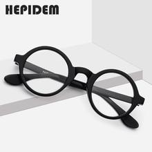 Acetate Optical Eyeglasses Frame Men New Retro Vintage Round Eye Glasses Women Spectacles Man Woman Optical Nerd Eyewear Zolman