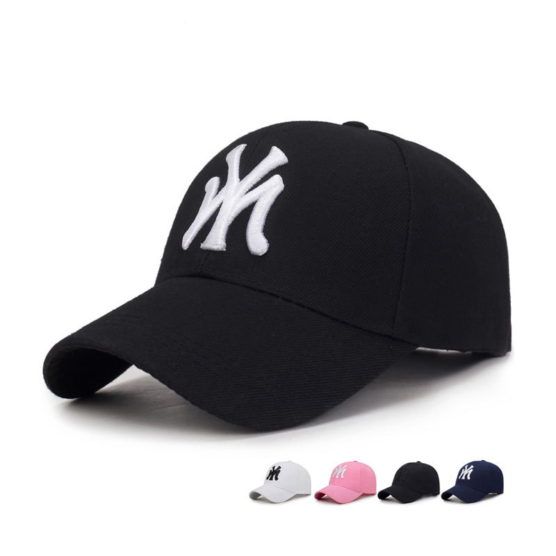 Women Caps Baseball-Cap Spring Letters Embroidered Adjustable Outdoor-Sport Fashion Summer