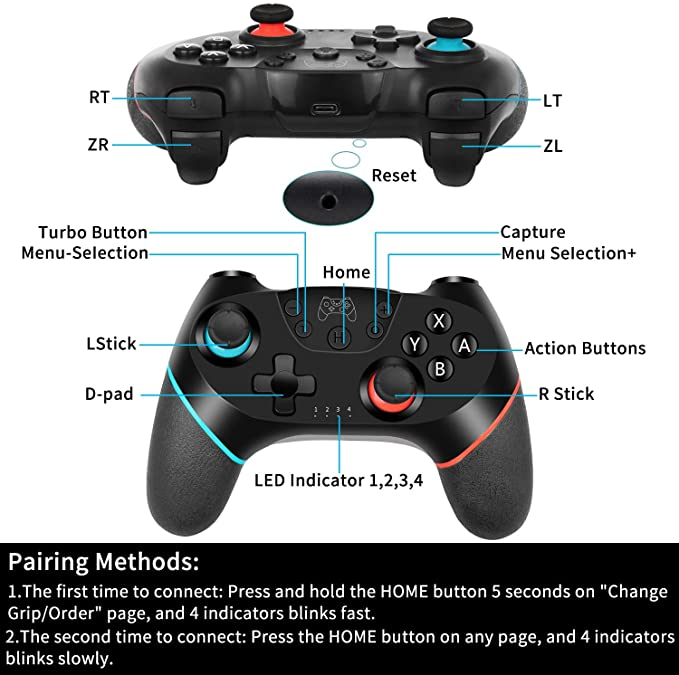 cheapest Wireless Joystick For NS Switch Pro Controller Switch Remote Gamepad RegeMoudal Wireless Controller for Nintendo Switch Game