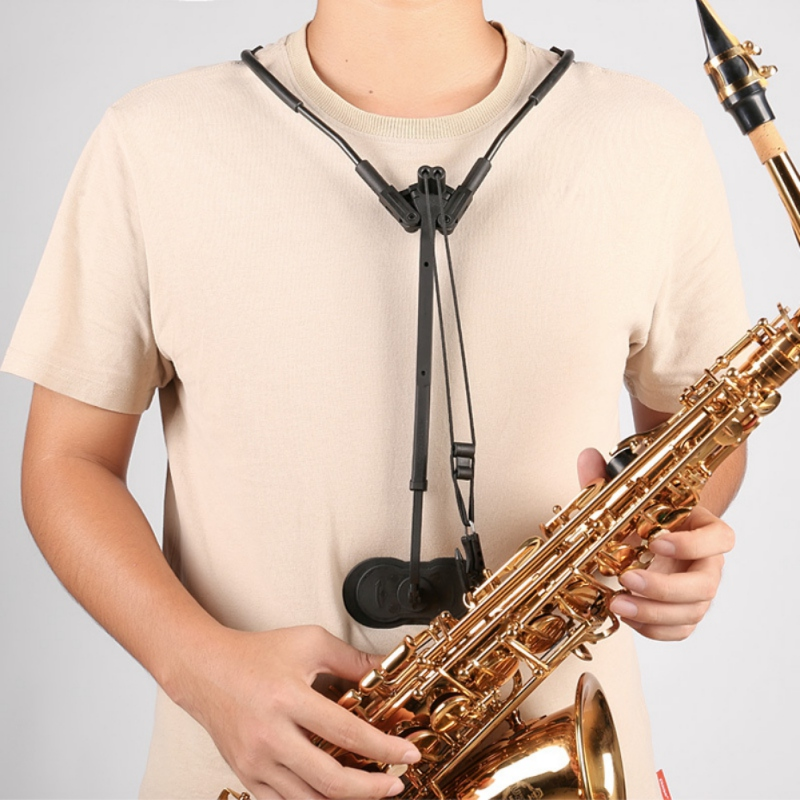 Adjustable Alto Tenor Saxophone Accessories Neck Shoulder Strap Belt Musical Parts Sax Strap Or Sax Harness Transfers