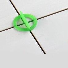 100Pcs Verwijderbare Tegel Leveling Systeem Slit Locator Floor Tot Tegel Uitlijning Leveler Clips Bouw Tool 1.5 / 2.0/3.0Mm