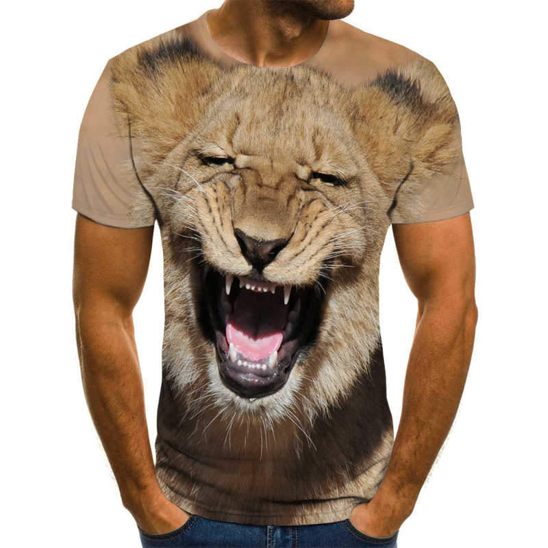 Nieuwe Zomer T-shirt Mannen Streetwear Grappige Schapen Korte Mouw Tees Tops Dier Mannelijke Kleding Casual 3D Print Tshirt