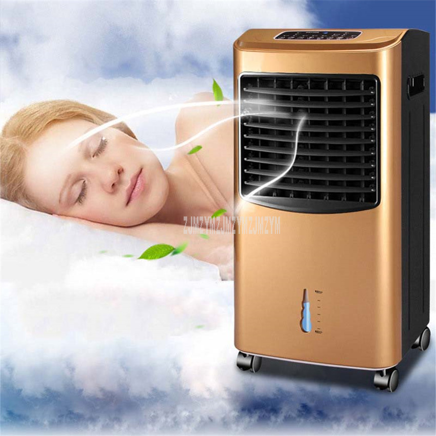 Portable Air Cooling Condition Air Cooler Purifier Conditioner Fan Warm Air Room Warmer Duel Use For Home Office Remote Control