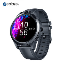 Zeblaze THOR 5 PRO Ceramic Bezel 3GB+32GB 800mAh GPS Watches Gift Leather Straps Dual Cameras 4G Smart Watch for IOS & Android(China)