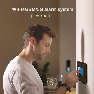 Image 3 - 3G Gsm Wifi Draadloze 433Mhz Alarmsysteem App Controle Smart Home Alle Touch Screen Smartlife Gprs Draadloze alarm Kits