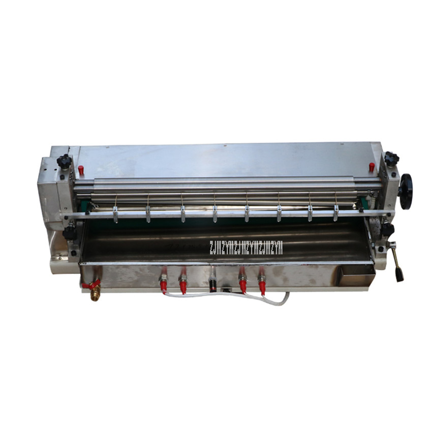 70CM Stainless Steel Glue Machine Heating Type Glue Laminating Machine For Packaging Carton Production Leather Gluing HJS 720