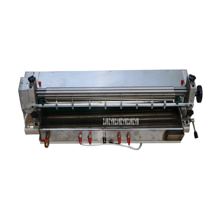 Machine de stratification de colle de Type de chauffage de Machine de colle d'acier inoxydable de 70CM pour le HJS-720 de collage de cuir de Production de Carton d'emballage