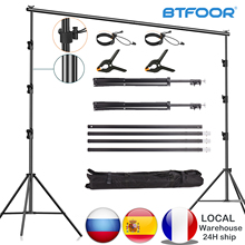 Photography Photo Studio Background Stand Backdrop Chromakey Green Screen Support System Frame Chroma Photobackground For Shoot
