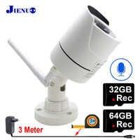 Security Camera Ip Wifi 1080P 32G 64G Audio Infrared Night Vision CCTV Surveillance Outdoor Waterproof HD Wireless Home Camera