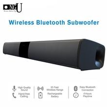 Barra de sonido inalámbrica por Bluetooth, altavoces estéreo Audio de TV para cine en casa, sistema de sonido envolvente, subwoofer Dual, columna de 20W