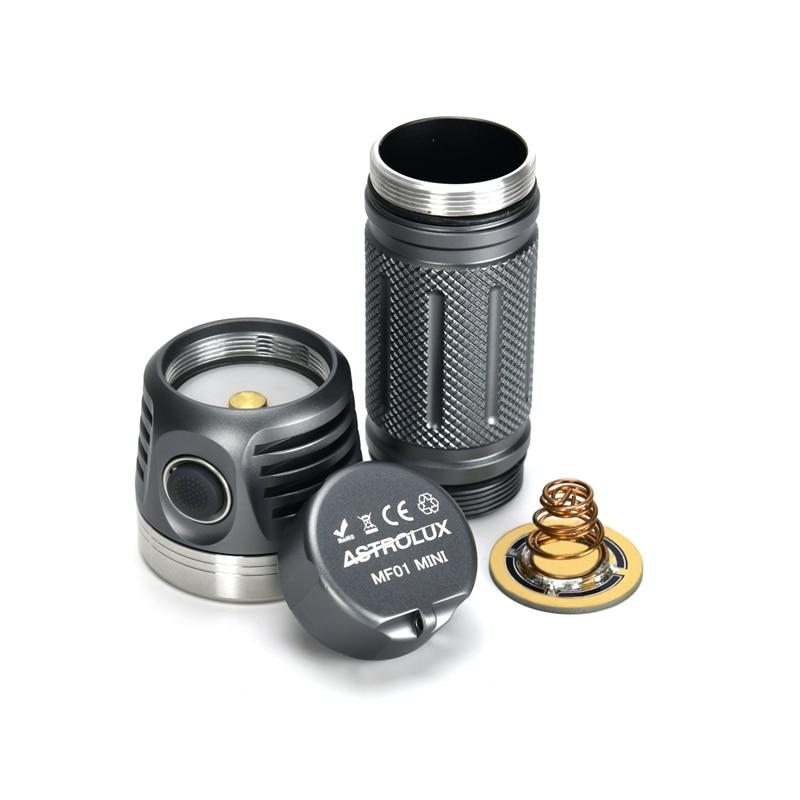 Astrolux MF01 Mini 7 * SST20 5500LM CRI95 Typ C Wiederaufladbare Campact EDC Taschenlampe 26650 21700 18650 Taschenlampe Laterne tragbare - 3