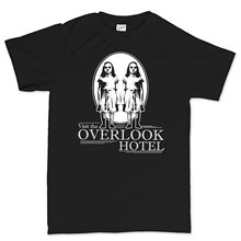 Visit Overlook Hotel Shining Horror T Shirt 2019 New Fashion T-Shirt Cotton MenS Black Newest Letter Print