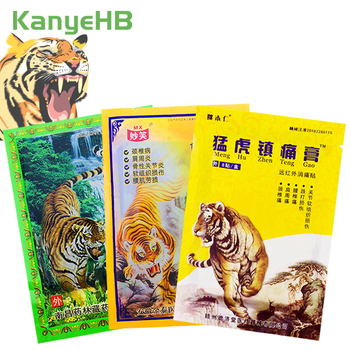 3 Typs of Tiger Balm Pain Relief Patch Back Muscle Arthritis Pain Stckers 100% Original Chinese Natural Herbal Medical Plaster new thai herbal massage chamois balm oil relief paralysis muscle pain tinnitus colds free shipping