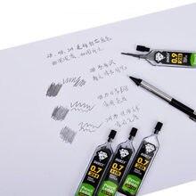 Test de plomb au crayon automatique (1 bouteille = 30), 0.3 / 0.5 / 0.7 / 0.9 Mm HB/2B/2H, recharge d'encre, école et bureau