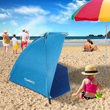 TOMSHOO Ultralight namiot kempingowy OutdoorBarraca sportowy namiot przeciwsłoneczny do wędkowania piknik Park plażowy Barraca namioty przeciw komarom